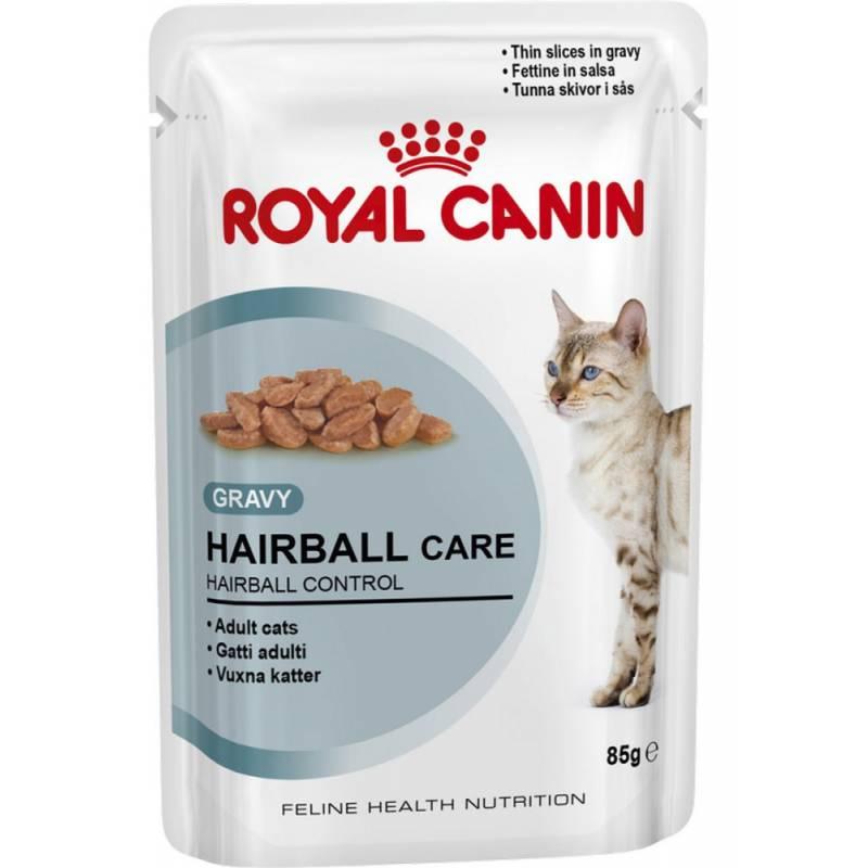 Royal Canin Hairball Care влажный корм в соусе 12 шт х 0.85 г (паучи)