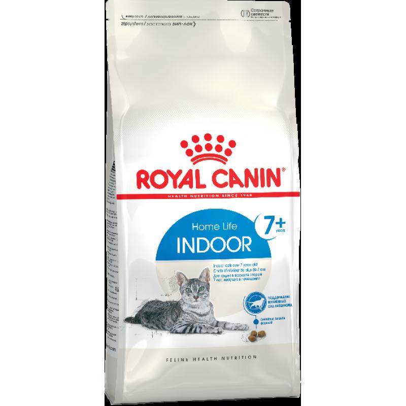 Royal Canin Indoor Mature +7 для кошек старше 7 лет 1,5 кг (3,5 кг)