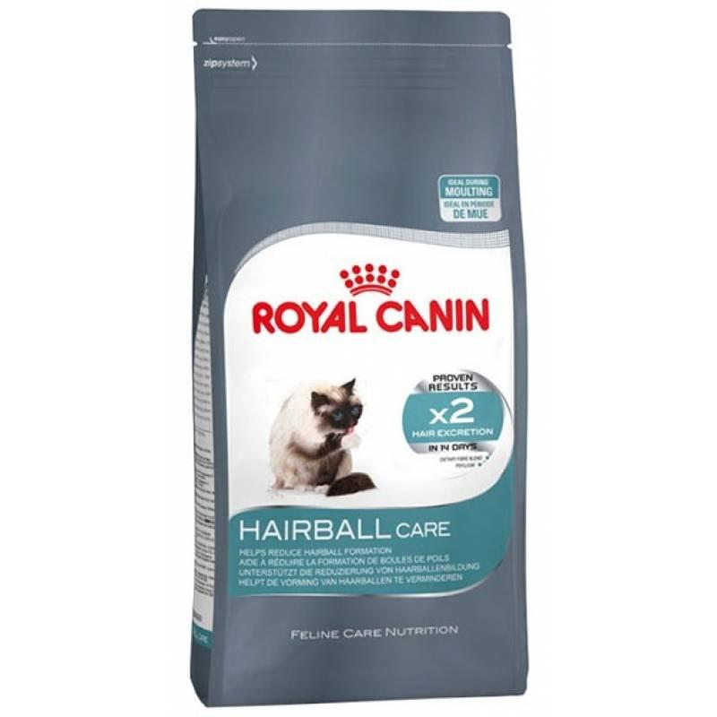Royal Canin Hairball Care для кошек при недостаточном выведении волосяных комочков из желудочно-кишечного тракта - 2 кг (10 кг)