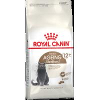 Royal Canin Sterilised 12+ сухой корм для кастрированных котов и стерилизованных кошек старше 12 лет - 2 кг  (4 кг)