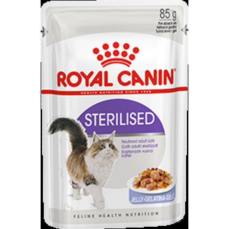Royal Canin Sterilised 24 шт х 0.85г в желе (паучи)