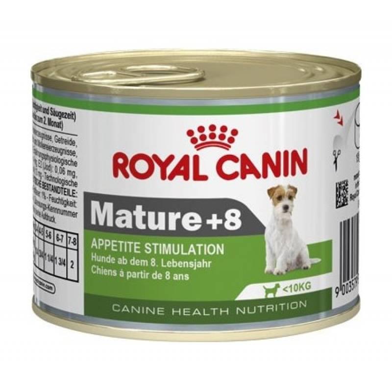 Royal Canin Mature +8 - паштет для собак старше 8 лет 195 гр х 12 шт
