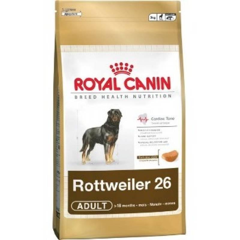 Royal Canin Rottweiler Adult сухой корм с птицей для взрослых собак породы ротвейлер старше 18 месяцев - 12 кг