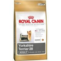 Royal Canin Yorkshire Terrier 28 Adult сухой корм для собак породы йоркширский терьер в возрасте от 10 месяцев 1,5 кг (3 кг) (7,5 кг)