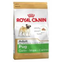 Royal Canin Pug Adult сухой корм для собак породы Мопс 1,5 кг (7,5 кг)