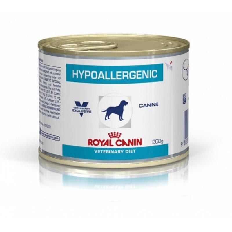 Royal Canin Hypoallergenic Canine консервы для собак при пищевой аллергии или непереносимости - 12 шт.x 195 гр