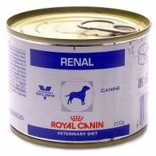 Royal Canin Renal Canine консервированный диетический корм для взрослых собак всех пород при хронической почечной недостаточности - 200 г х 12 шт.