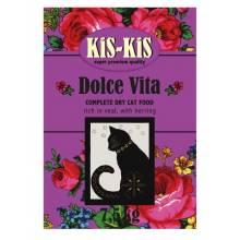 KiS-KiS Dolce Vita корм для взрослых кошек с индейкой, гусем, уткой и курицей - 7,5 кг
