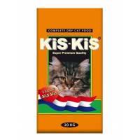 KiS-KiS Goose Single для взрослых кошек с гусем, ягненком и рыбой - 20 кг
