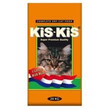 KiS-KiS Poultry Mix корм для взрослых кошек с индейкой, гусем, уткой и курицей - 20 кг