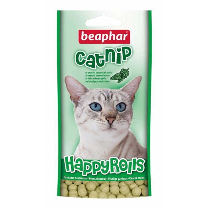 Beaphar Лакомство для кошек шарики с кошачьей мятой 80 шт