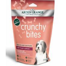 Лакомство Arden Grange Crunchy Bites для собак с лососем - 225 г