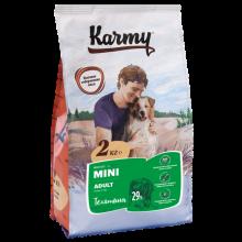 Karmy Мини Эдалт Телятина корм для взрослых собак мелких пород старше 1 года. (2 кг) (15 кг)