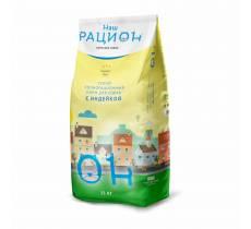Наш рацион сухой корм для взрослых собак с индейкой 3 кг (15 кг)