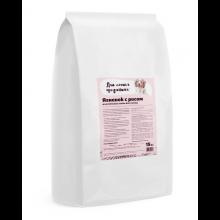 Для самых преданных™ корм для собак всех пород Ягненок с рисом 15 кг.