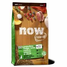 NOW! Fresh Grain Free Kitten Recipe холистик корм из свежего филе индейки, лосося и утки для котят с 5 недели, беременных и кормящих кошек 1,36 кг (3,63 кг) (7,26 кг)