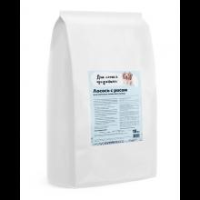 Для самых преданных™ корм для собак всех пород Лосось с рисом 15 кг.