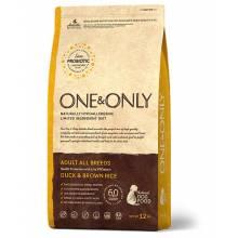 ONE&ONLY duck & Rice Adult All Breeds сухой корм для собак всех пород, утка с рисом - 1 кг (3 кг), (12 кг)