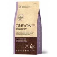 ONE&ONLY duck & Rice Adult Sterilized сухой корм для стерилизованных кошек, утка с рисом  - 400 гр (2 кг)