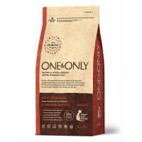 ONE&ONLY lamb & Rice Adult Sterilized сухой корм для стерилизованных кошек, ягненок с рисом  - 400 гр (2 кг)