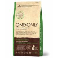 ONE&ONLY turkey & Rice Adult Mini Breeds сухой корм для собак мелких пород, индейка с рисом - 1 кг (3 кг)
