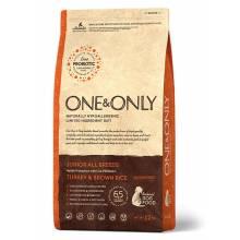 ONE&ONLY turkey & Rice Junior All Breeds сухой корм для юниоров всех пород, индейка с рисом - 1 кг (3 кг), (12 кг)