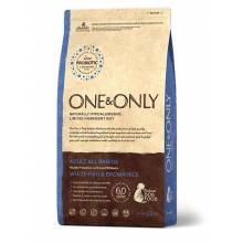 ONE&ONLY white Fish & Rice Adult All Breeds сухой корм для собак всех пород, белая рыба с рисом - 1 кг (3 кг), (12 кг)
