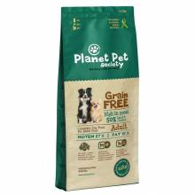 Planet Pet Grain Free Lamb & Potato For Adult Dogs сухой корм беззерновой для взрослых собак с ягненком и картофелем 2,5 кг (12 кг)