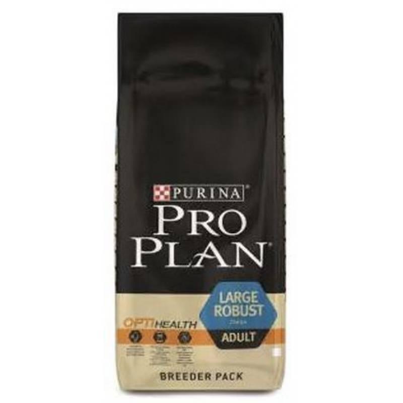 Pro Plan Adult Large Robust сухой корм для взрослых собак крупных пород с мощным телосложением с курицей и рисом - 3 кг
