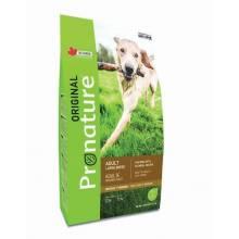 Pronature Original сухой корм для взрослых собак крупных пород с курицей и овсом (15 кг) (20 кг)