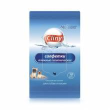 Cliny Влажные салфетки 10 шт
