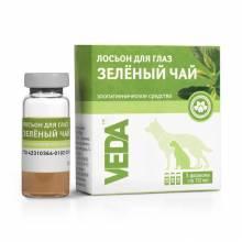 """Veda лосьон для глаз зоогигиеническое средство для собак и кошек """"Зеленый чай"""", 3 шт х 10 мл"""