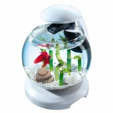 Tetra Cascade Globe White комплекс аквариумный белый - 6,8 л