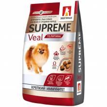 Зоогурман сухой корм для взрослых собак мелких и средних пород с телятиной 1 кг (10 кг)