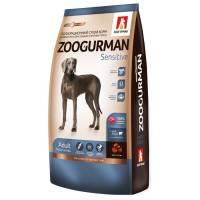 Зоогурман сухой корм для взрослых собак с ягненком и рисом 12 кг (20 кг)