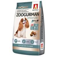 Зоогурман Urban Life сухой корм для взрослых собак с индейкой 1,2 кг (10 кг)